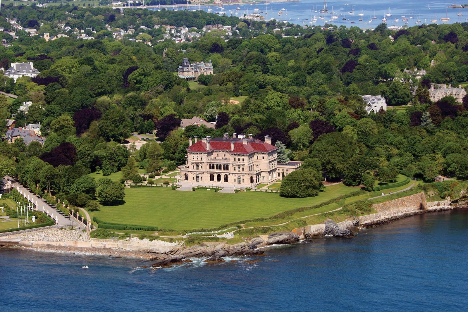 Newport Mansion The Breakers On Pinterest