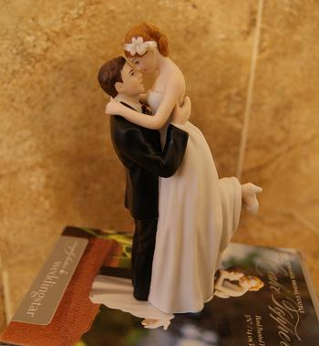 Wholesale Wedding on Wedding Blog  True Romance Couple Unique Wedding Cake Topper