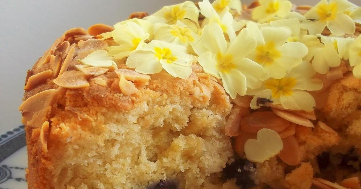 Bakewell Cake No Eggs