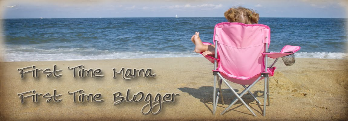 First Time Mama - First Time Blogger<br>