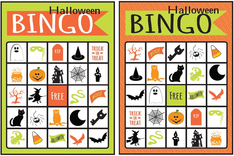 This is a picture of Declarative Free Printable Halloween Bingo Cards