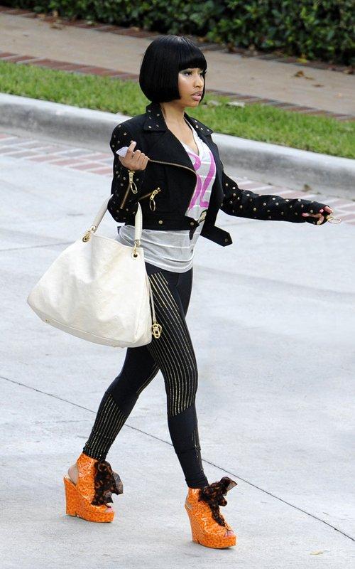 Fashion Style Blogger Trend Sidewalk Nicki Minaj Shoes