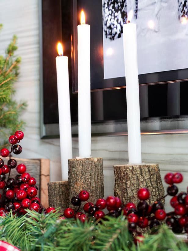 Diseño de interiores & arquitectura: adornos de navidad: 3 repisas ...