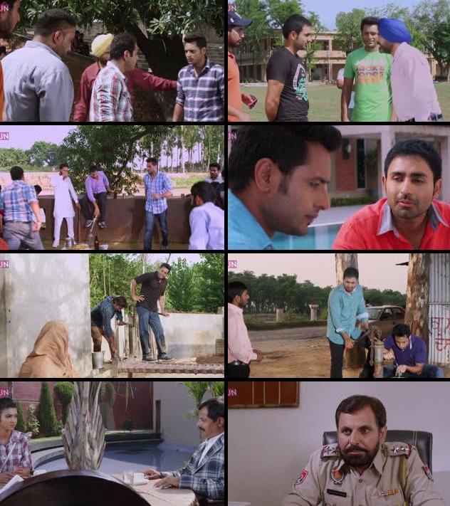 Gandhi The Gangster 2015 Punjabi 480p WEB HDRip 350mb