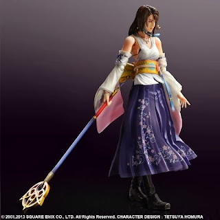 Square Enix Play Arts Kai Final Fantasy X HD Remastered Yuna Figure