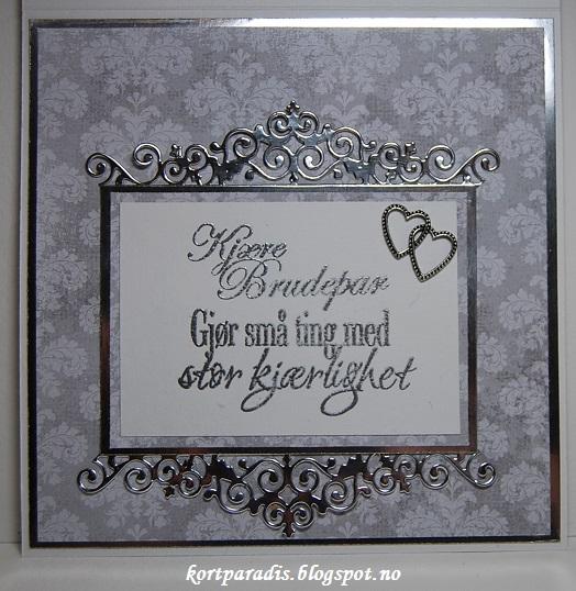 Kortparadis: Bryllupskort
