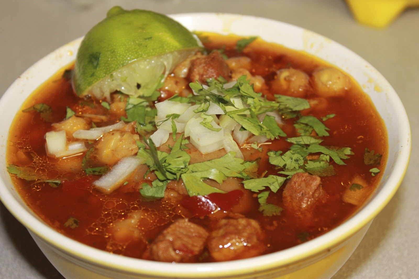 Suburban Habits: Traditional Posole