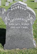 Tombstone TuesdayAbraham RuthMennonite Cemetery. Abraham Ruth,