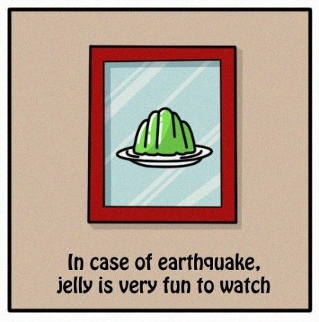 Funny Earthquake Detection Kit