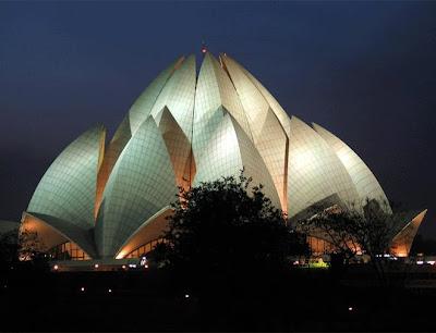 Delhi Lotus Temple stills
