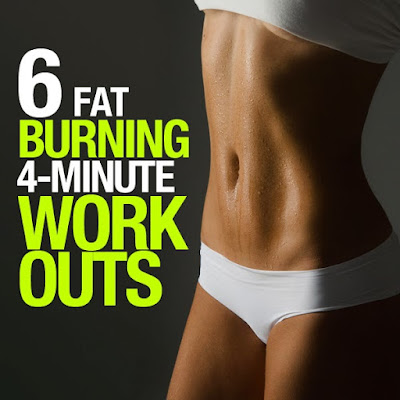 6 Fat-Burning, 4 Minute Workouts