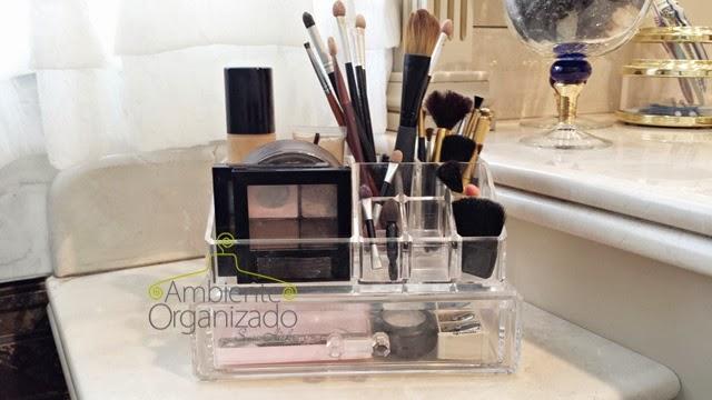 Limpeza de pincéis de maquiagem