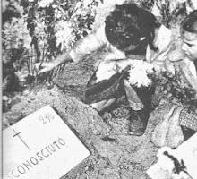 RESTI DI FASCISTI  RINVENUTI IN EMILIA NEGLI ANNI 60