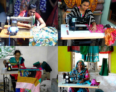 Nomadic Women Livelihood Generation by VSSM