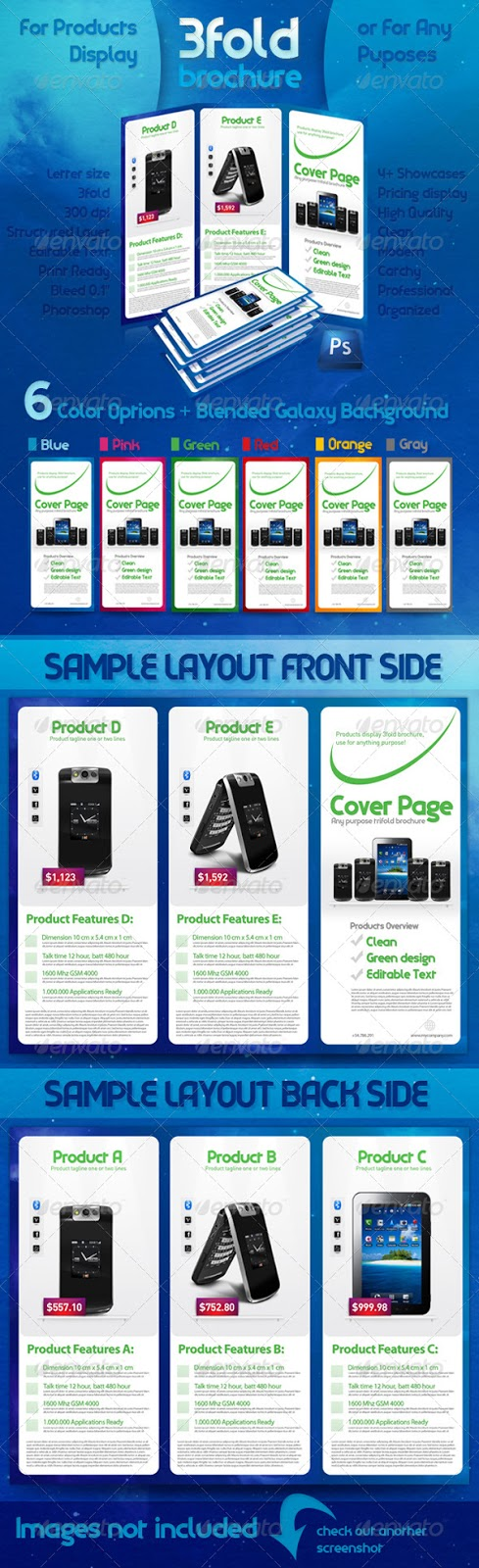 brochure template photoshop