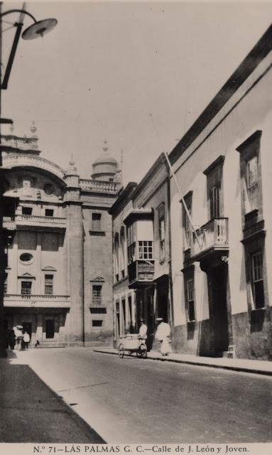 Imagen nº 04483 propiedad del archivo de fotografía histórica de LA FEDAC/CABILDO DE GRAN CANARIA. realizada entre los años 1950 y 1955.