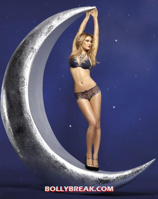 Bar Refaeli for Passionata in a Moon - Bar Refaeli Bikini Photos for Passionata lingerie