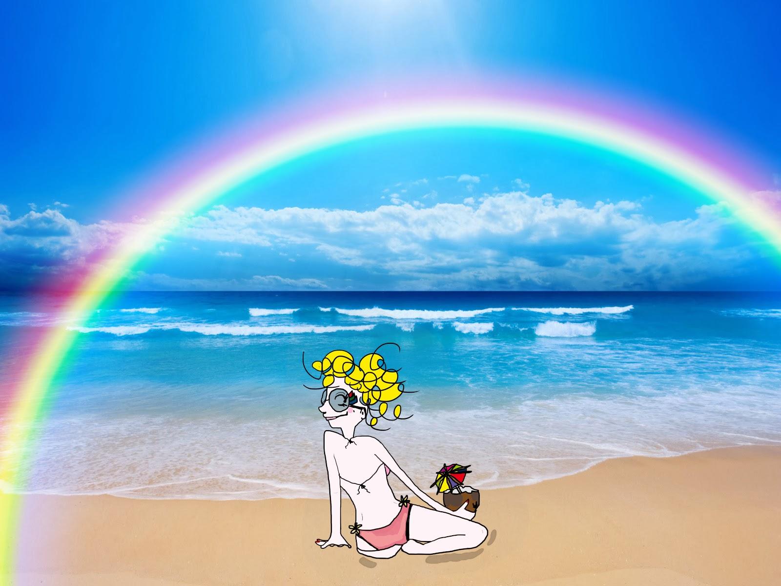 La vie selon L. à la plage, plage paradisiaque, paradis, ile maurice