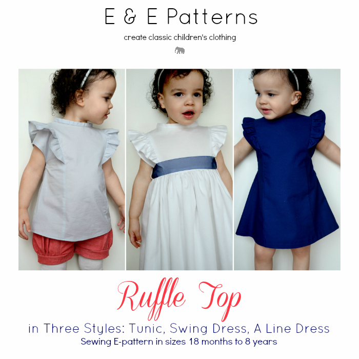 Ruffle Top Pattern Now Available | ELEGANCE & ELEPHANTS