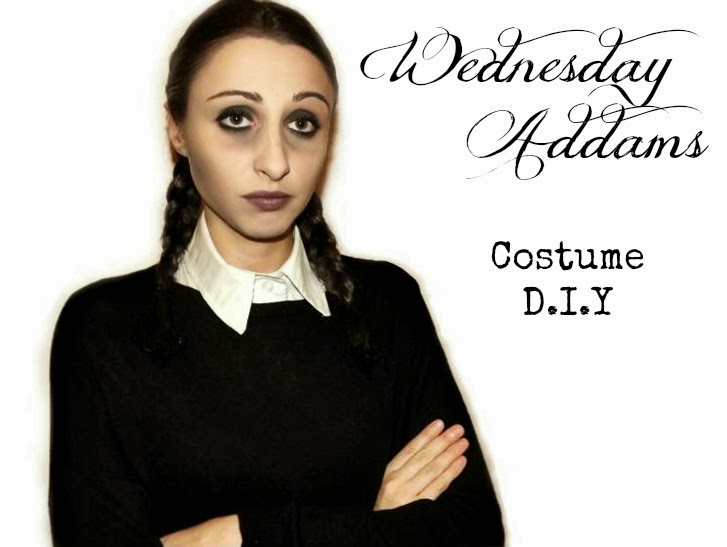 WEDNESDAY ADDAMS COSTUME D.I.Y