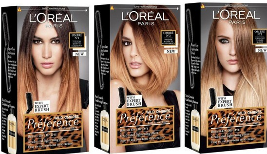 Beauty le chic august 2012 prepare to go wild for loreal paris prfrence home ombr hair kits solutioingenieria Image collections