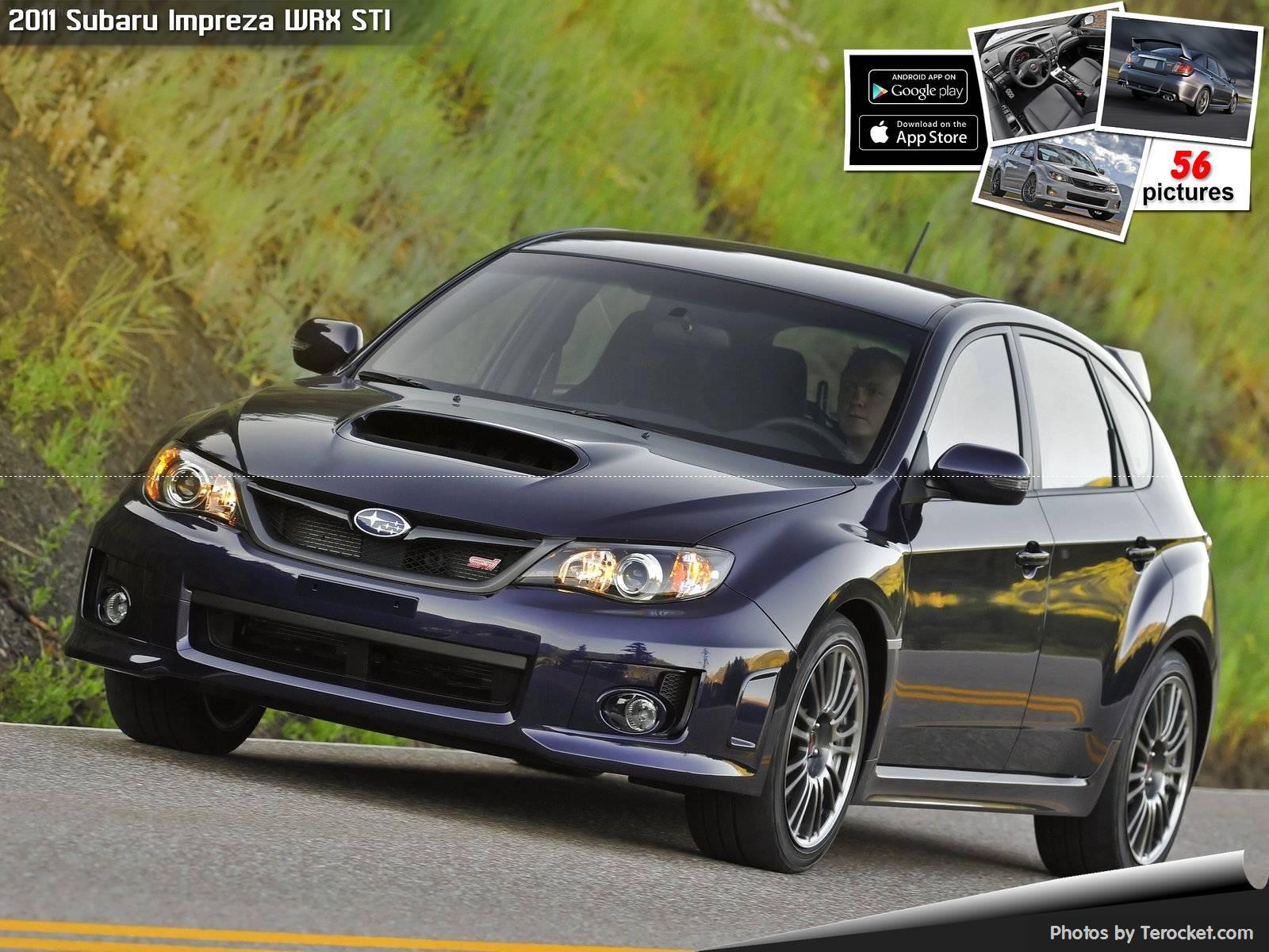 Hình ảnh xe ô tô Subaru Impreza WRX STI 2011 & nội ngoại thất