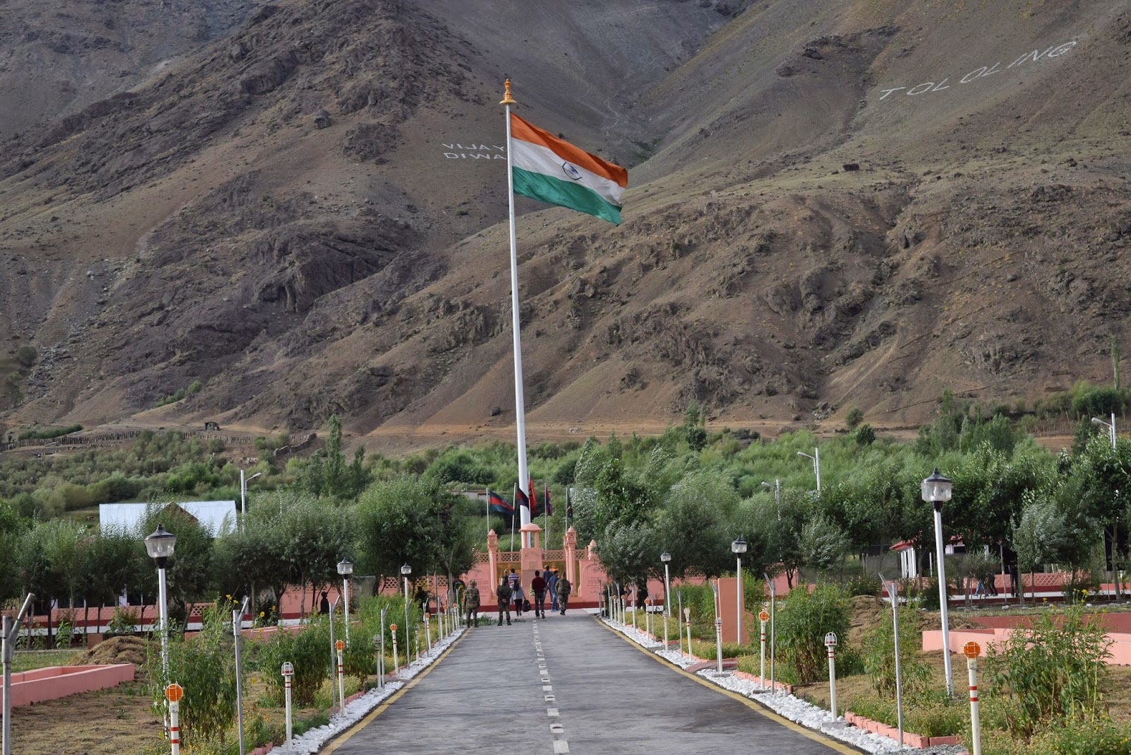 Operation Vijay Memorial in Kargil