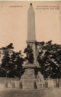 CPA monuments aux Morts du Puy-de-Dôme, Maringues