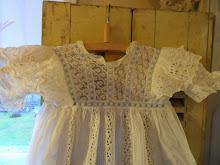 Gammal Dopklänning