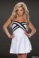 Rochie AdorableGirl White