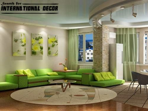 Living room decorating ideas, zoning living room