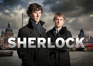 Benedict Cumberbatch and Martin Freeman Sherlock HD Wallpaper