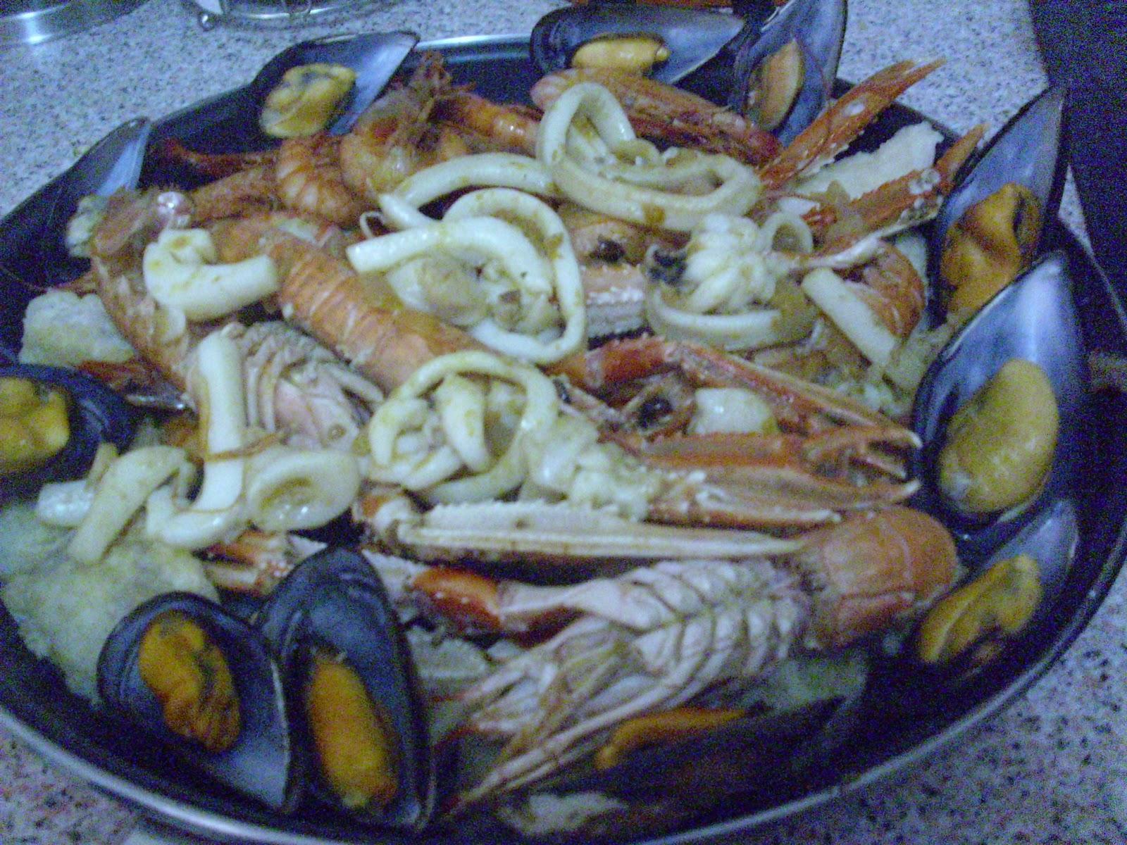 Mi mam cocina zarzuela de pescado y marisco for Cocinar zarzuela