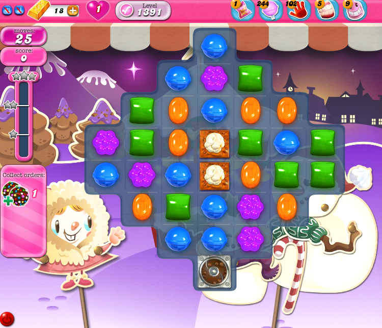 Candy Crush Saga 1391