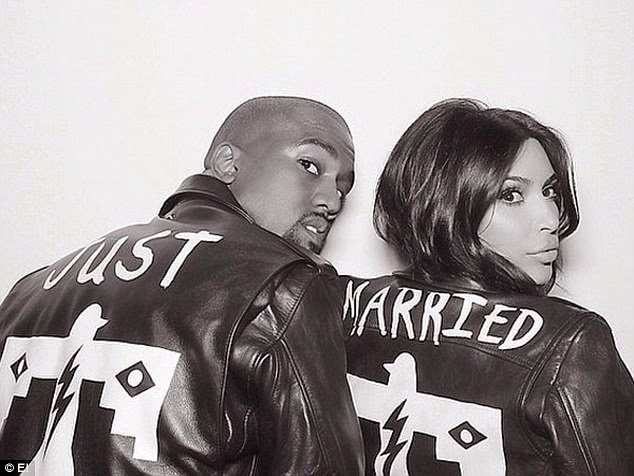 Stunning!! Kim Kardashian steps out with North West in her 'wedding day jacket' (Photos) 3