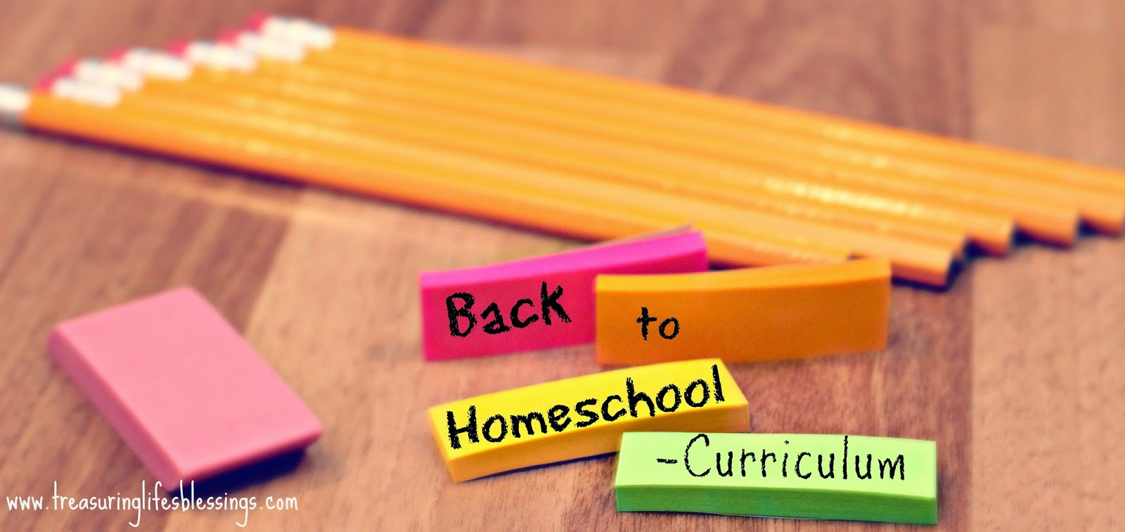 Back to Homeschool -Curriculum
