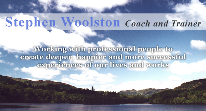 STEPHEN WOOLSTON | coach and trainer