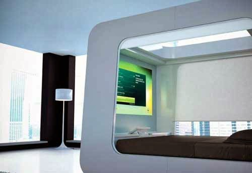 HiCan Bed with Multimedia Entertainment