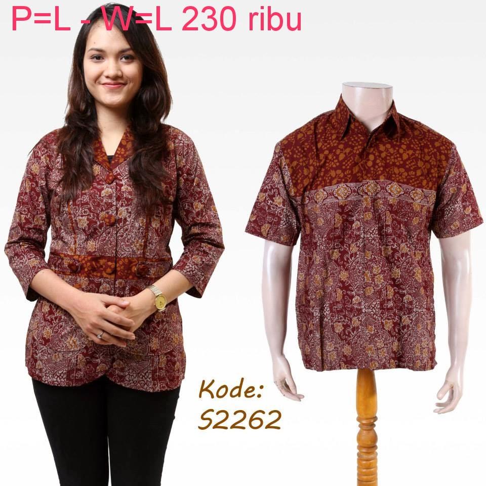 Baju Batik Pasangan Online Model Baju Batik