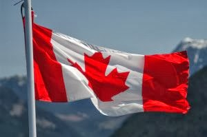 Image of the Canadian flag.