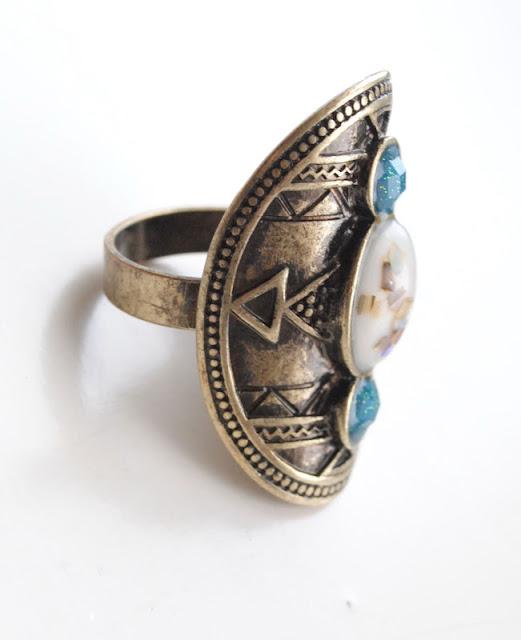 vintage pierścionek