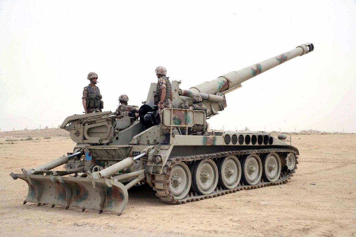 Fuerzas Armadas de Jordania Jordan+M110