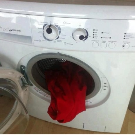 Washing machine gone crazy