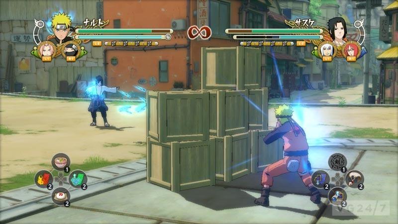 Play Game Naruto Ultimate Ninja Storm 3