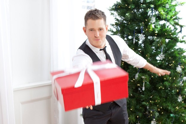 christmas with the velvet doucheagain michael buble releases special edition of the christmas cd he released just last year