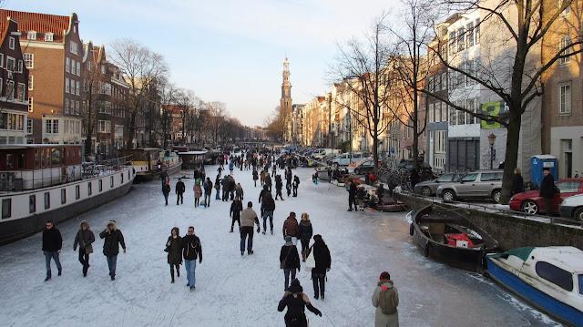 Viaggio ad Amsterdam in Inverno