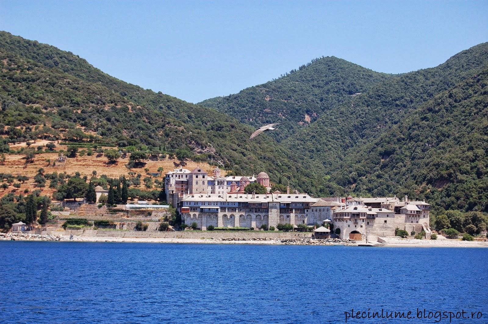 Manastirea Xenofontos din Athos