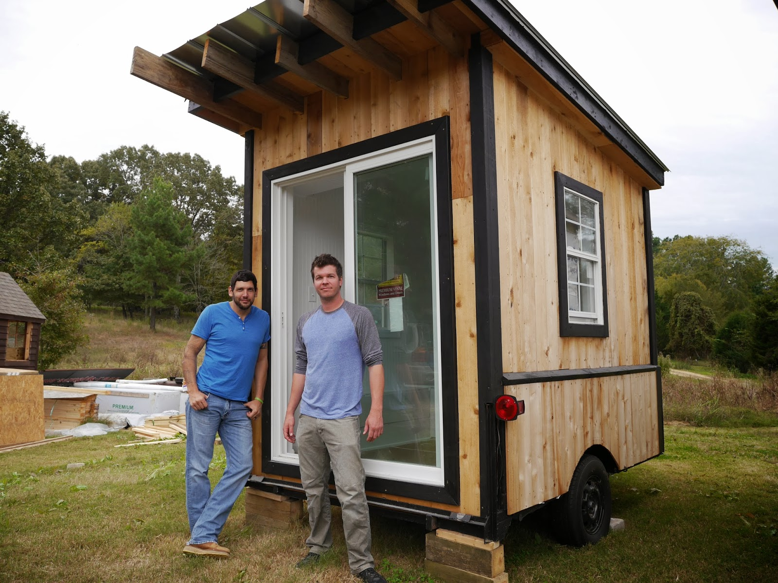 Tiny house building and design workshop for Tiny cottages to build