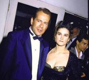 La storia d'amore tra Demi Moore e Bruce Willis