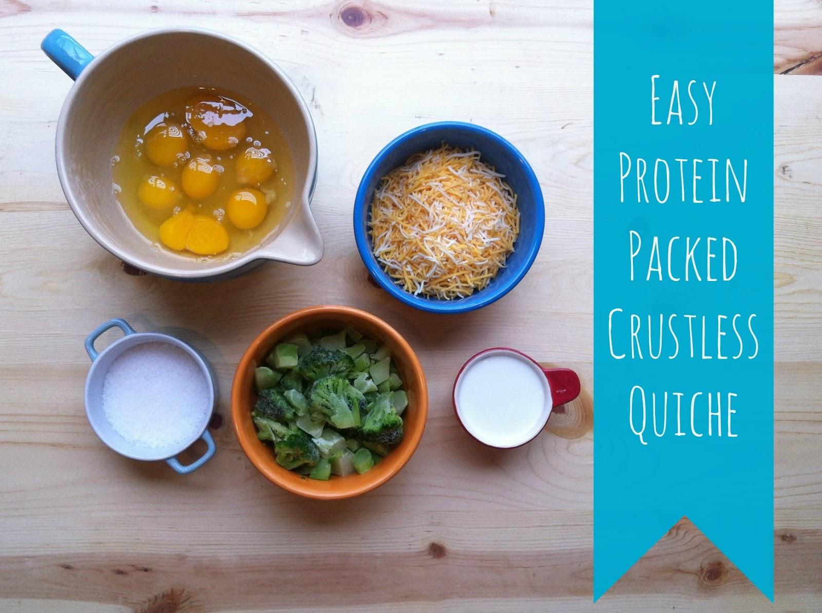 Easy crustless quiche.   Joy's Hope